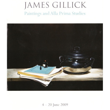 James Gillick : Paintings and Alla Prima Studies