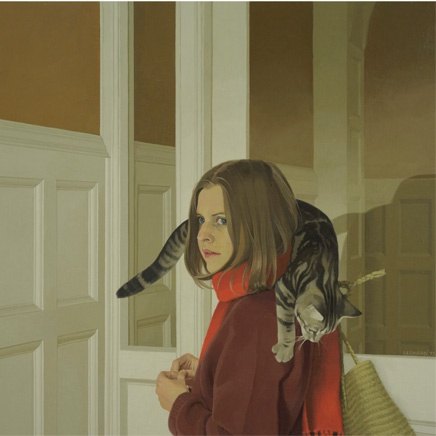Michael Leonard - Girl in the Hall, 1977